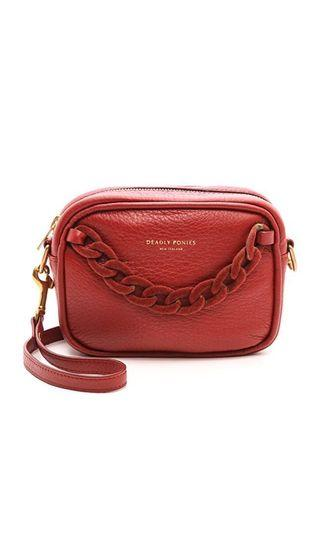 DEADLY PONIES Leather Cross Body Bag