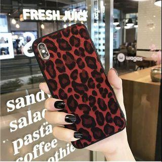 iPhone X Fashion Leopard Phone Case Cover