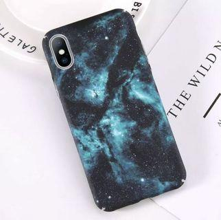 iPhone X Universe Space Hard Phone Case Cover