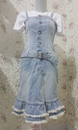 Overrall jeans ( inner tdk termasuk)