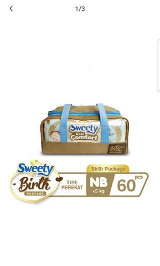 Sweety Gold Birth Package