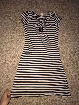 Mini dress stripe /garisgaris