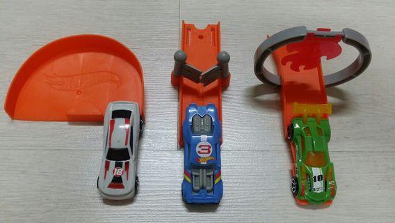 McDonald's hotwheel car toy 1
