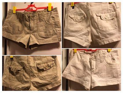abercrombie女童短褲(共2條)
