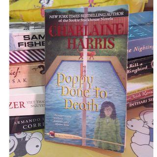 Poppy done to death by Charlaine Harris buku import murah