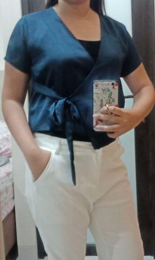 Top Kimono Blue