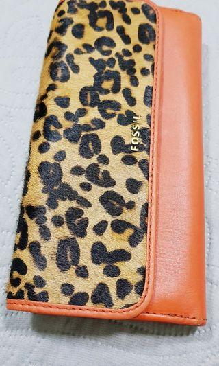 Fossil Leather & Cowhide Purse