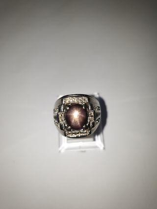 🚚 Natural Ruby Star Ringstone