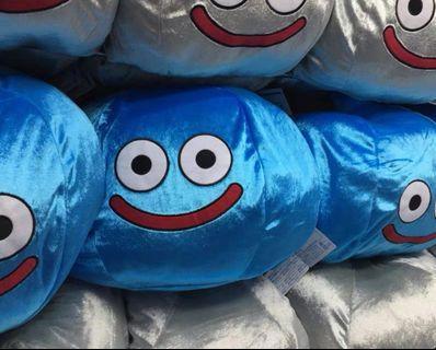 日本史萊姆金屬色毛公仔咕臣(藍色)