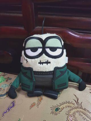 Minion Monsters Frankenbob Plushie Plush Toy (from Universal Studios Singapore)