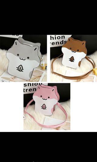 Hamster sling bag (Preorder)