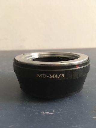 Minolta MD Adapter to Micro Four Thirds (MFT/M43) #JuneToGo