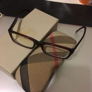 Burberry Maroon Red Specs Frame