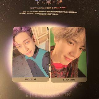 [CLEARANCE SALE] GOT7 SPINNING TOP Security & Insecurity Photocards