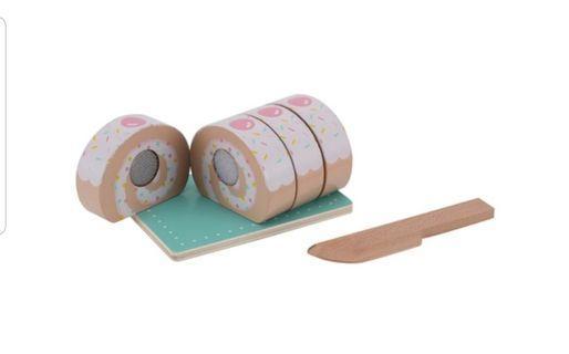 Wooden swiss roll
