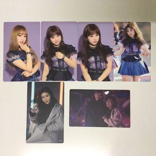 IZ*ONE official photocards izone