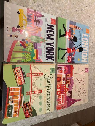 City Series board books (either London or Paris or New York or San Fran)