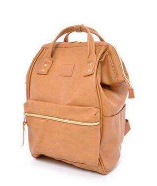 Anello Backpack PU Leather Large (BNIB) #MRTRaffles