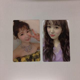 IZ*ONE Hitomi Nako HEART*IZ photocards izone heart iz
