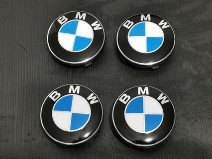 BMW floating wheel hub caps