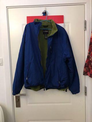 Vintage LL Bean jacket with fleece inner