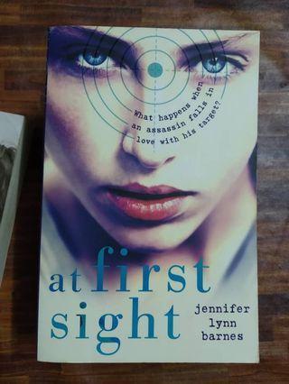 At First Sight by Jennifer Lynn Barnes