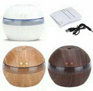 Diffuser LED Air Purifier Humidifier/ pelembab udara aromaterapi ultrasonic