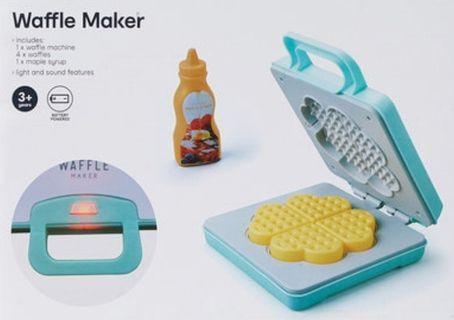 Waffle maker playset
