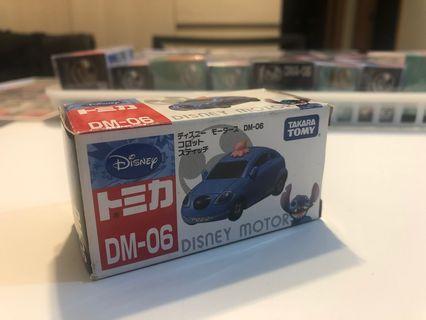 Tomica tomy Disney stitch 史迪仔 車 dm 06