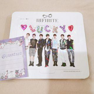 WTS Infinite official collection card vol.1