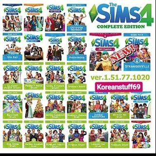 The sims 4 complete collection