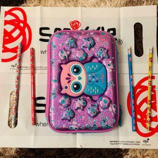 🔥Ready Stock🔥Original Smiggle Pencil Case / Kotak Pensil Smiggle 🔥