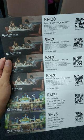 Resorts World Genting Malaysia Vouchers
