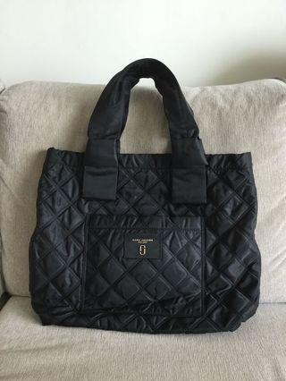 Marc Jacobs Large Quilted Tote Black 98%新