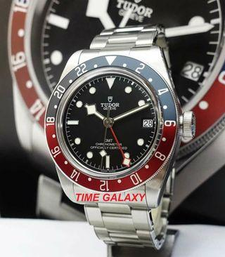 Brand New TUDOR Black Bay PEPSI GMT 41mm Men's Auto Stainless Steel  Watch. Model : 79830RB. Swiss Made.