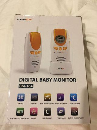 Digital Baby Monitor with music lullabies