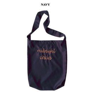🚚 Midnight circus tote bag (navy)
