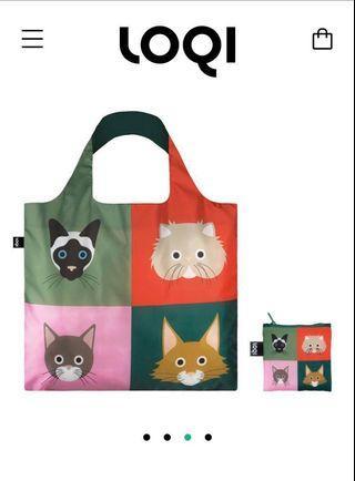 (包平郵)全新 德牌 LOQI shopping bag 環保 購物袋