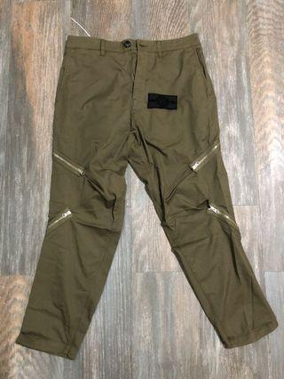 Stone Island Shadow Project Variable zipper pants acronym