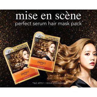 MISE EN SCENE PERFECT REPAIR HAIR MASK PACK