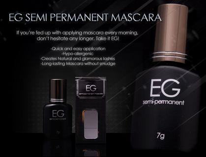 EG semi permanent mascara from korea free brush
