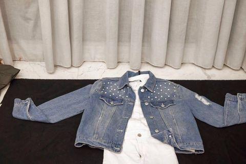 Jaket jeans mutiara - premium