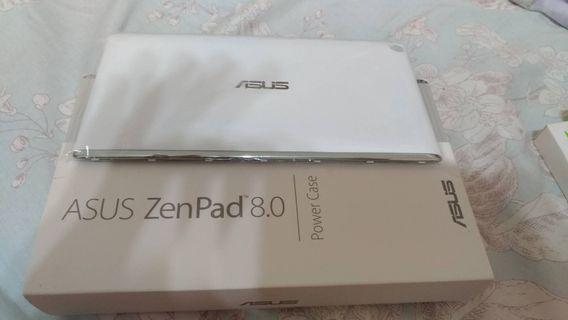 [配件]華碩ASUS 平板zenpad8.0 ze380kl ze380knl 電源背蓋power case白色