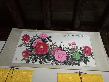 中國名家畫作收藏品
