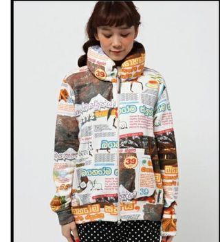 Mercibeaucoup 型格衛衣外套