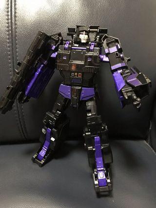二手變形金剛Transformers Black Megatron 黑色麥加登坦克