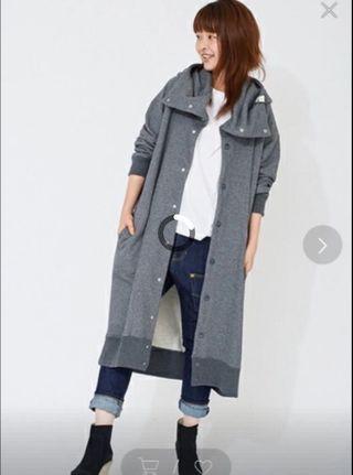 Mercibeaucoup 衛衣長外套