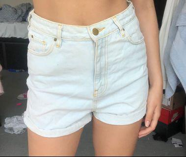 Pull and bear jean shorts