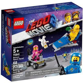 現貨 ❗️THE LEGO MOVIE 2 70841 Benny's