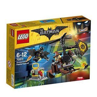 現貨 ❗️LEGO DC Comics 70913 Batman Movie Scarecrow Fearful Face-Off Toy